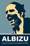 Albizu - Blue Poster