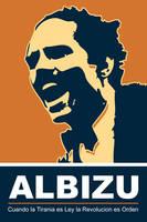 Albizu - Orange Poster by exvoxdesigns