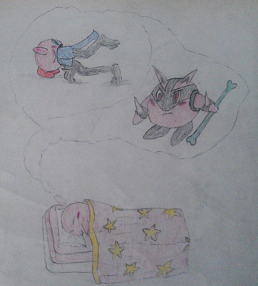 Kirby's Dream by saiyankev