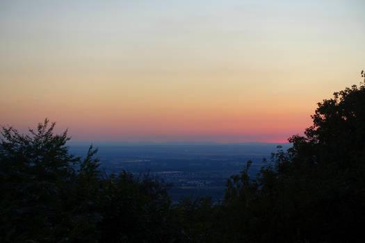 Hot Summer Sunset IV