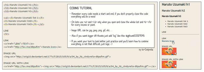 Coding Tutorial 2 by itz-Cindyrella
