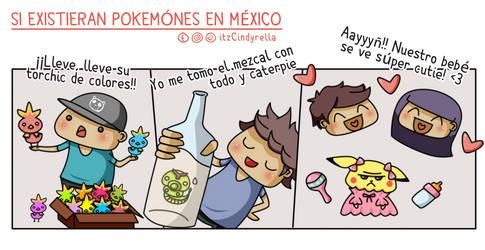 Pokemones Mexicanos by itz-Cindyrella