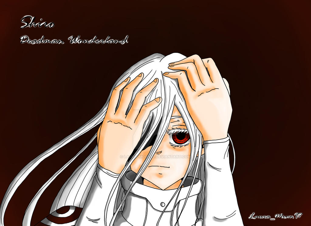Deadman Wonderland Shiro by Laura-Moon97