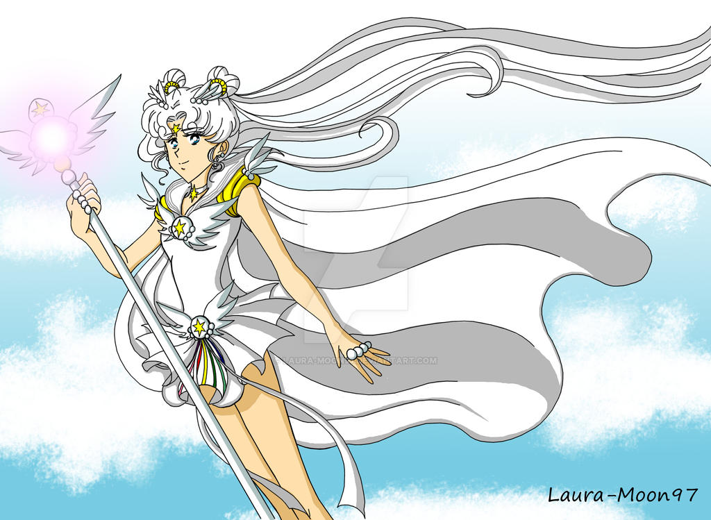 Sailor Cosmos by Laura-Moon97