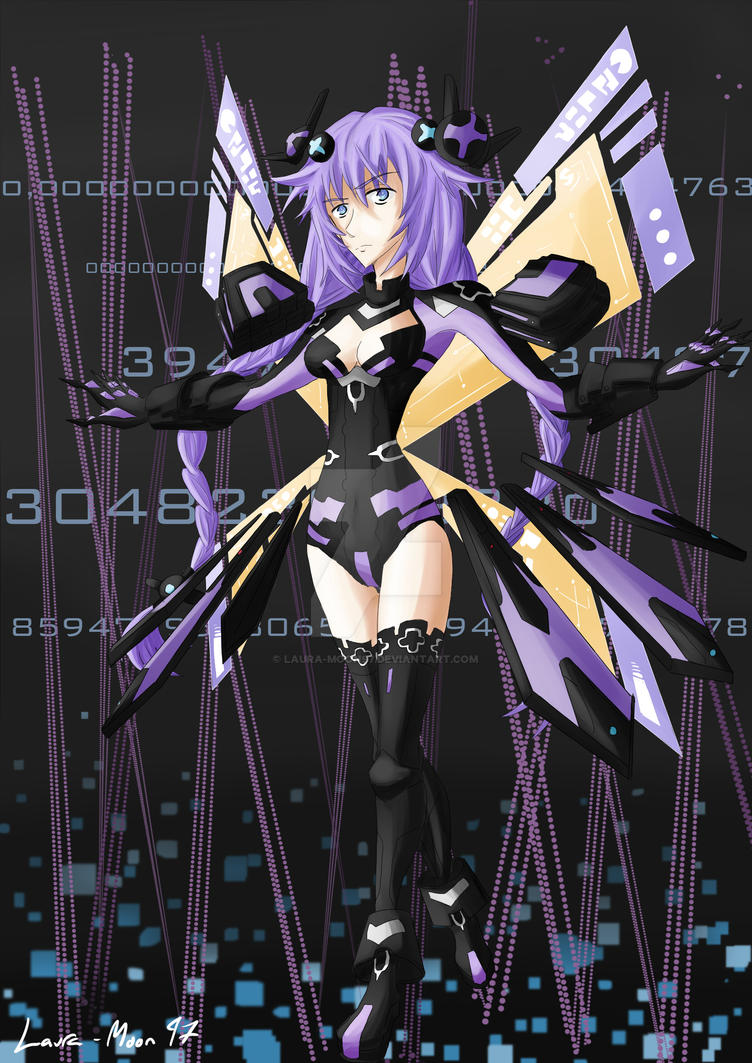 Hyperdimension Neptunia - Purple Heart by Laura-Moon97