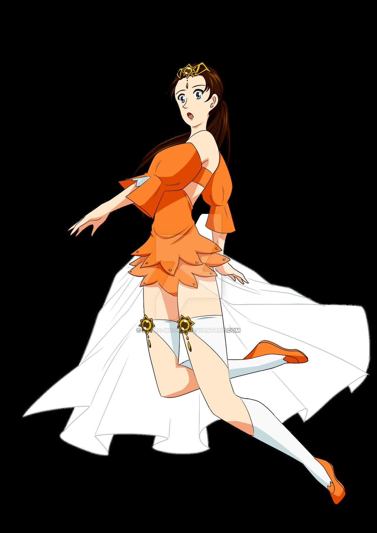 Felicia - Sun costume Uta Kata by Laura-Moon97