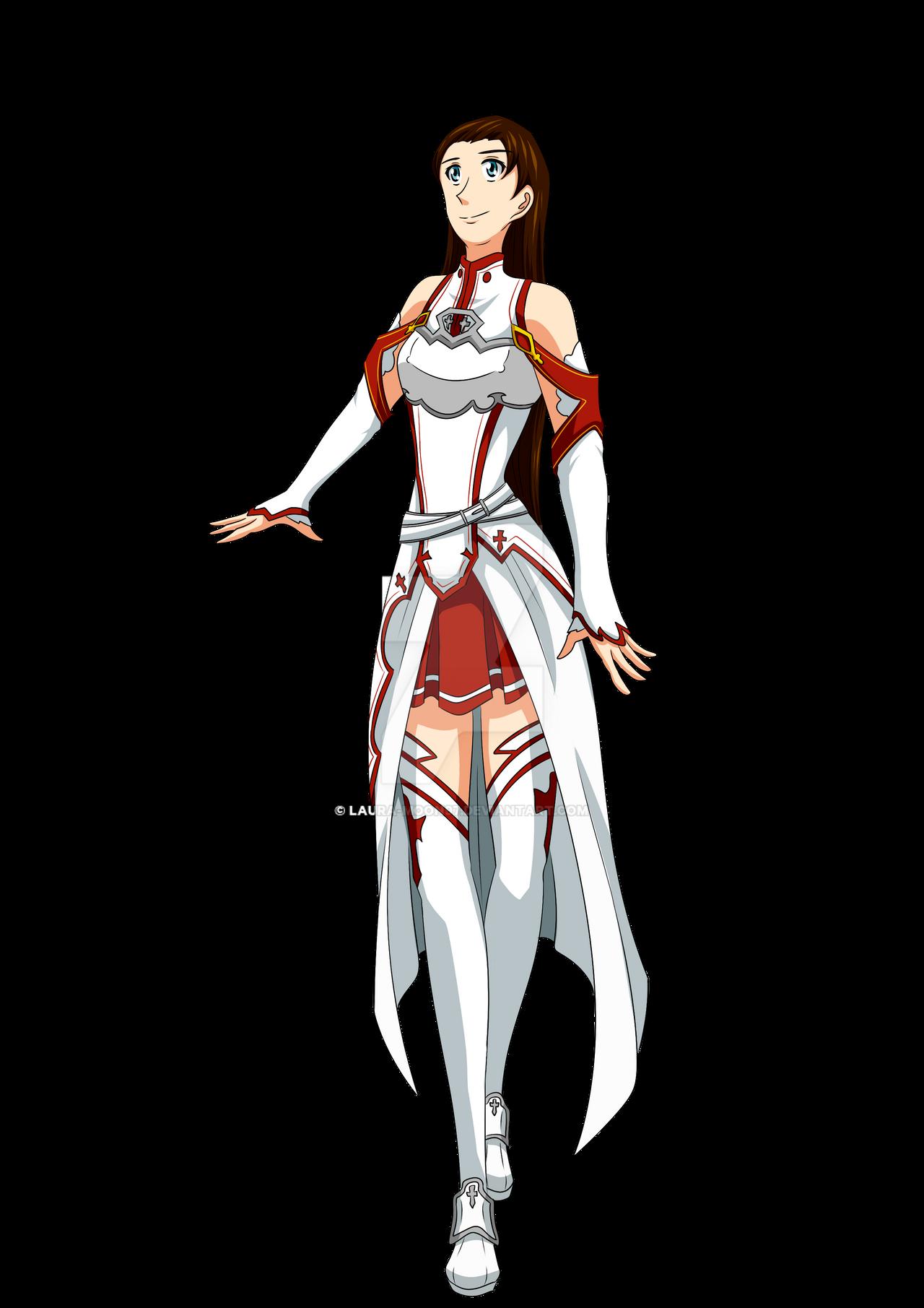 Felicia - Asuna's costume (SAO) by Laura-Moon97