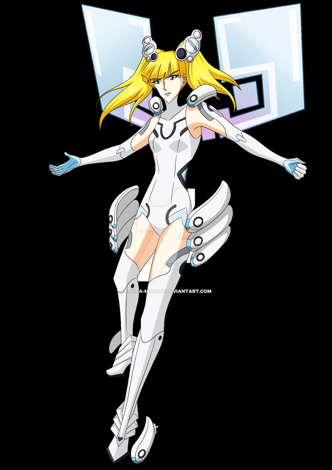 Camilla - Neptunia White Heart's costume by Laura-Moon97