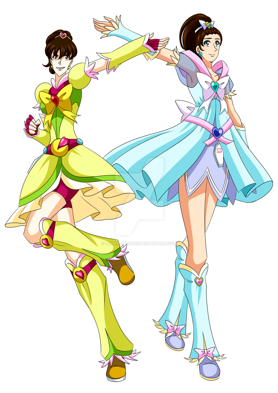 Laura and Felicia - Splash Star 2 by Laura-Moon97