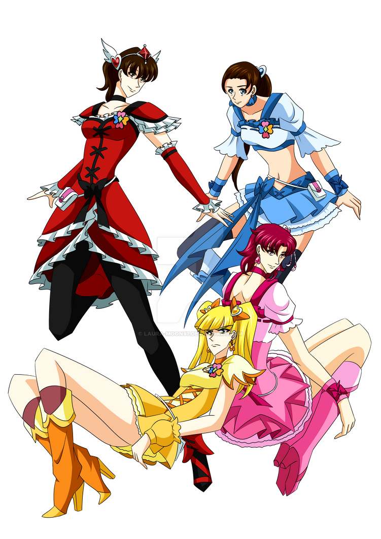 My characters - Fresh Precure costumes by Laura-Moon97