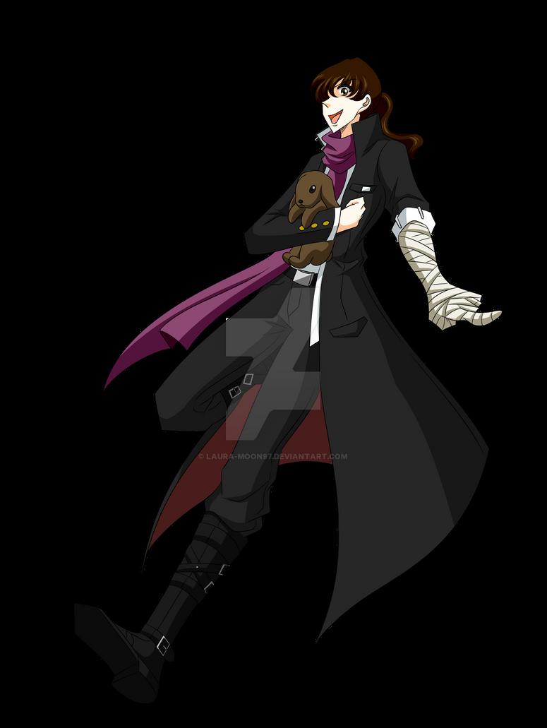 Laura - Gundam Tanaka's costume by Laura-Moon97