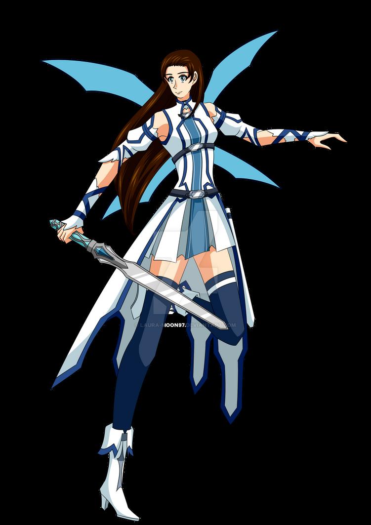 Felicia Lindros - Asuna ALO costume by Laura-Moon97