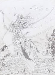 Corellon Larethian by Rimdgard-Ultrinan