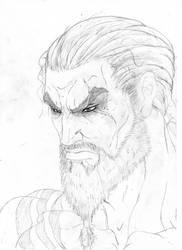 Khal Drogo of Game of Thrones by Rimdgard-Ultrinan