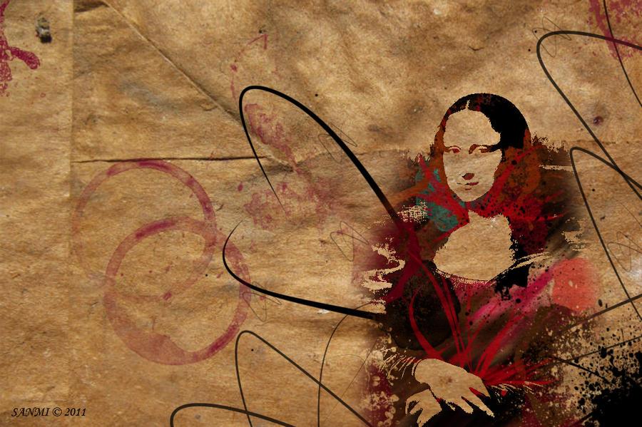 paintings mona wallpaper 1280x980 - photo #31