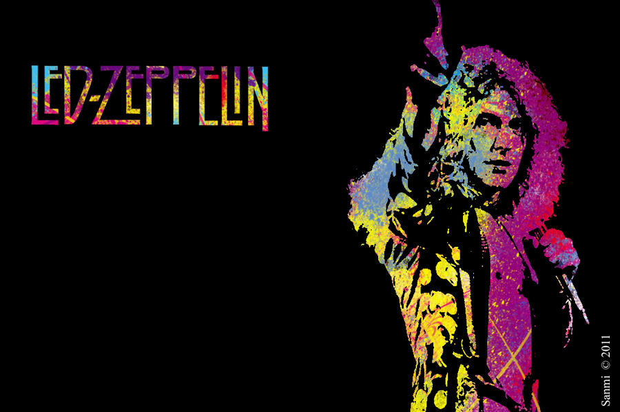 led zeppelin wallpaper by sanmi