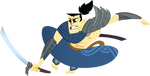 Samurai Yasuo by sanmi