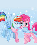 Pinkie made a scarf for RD