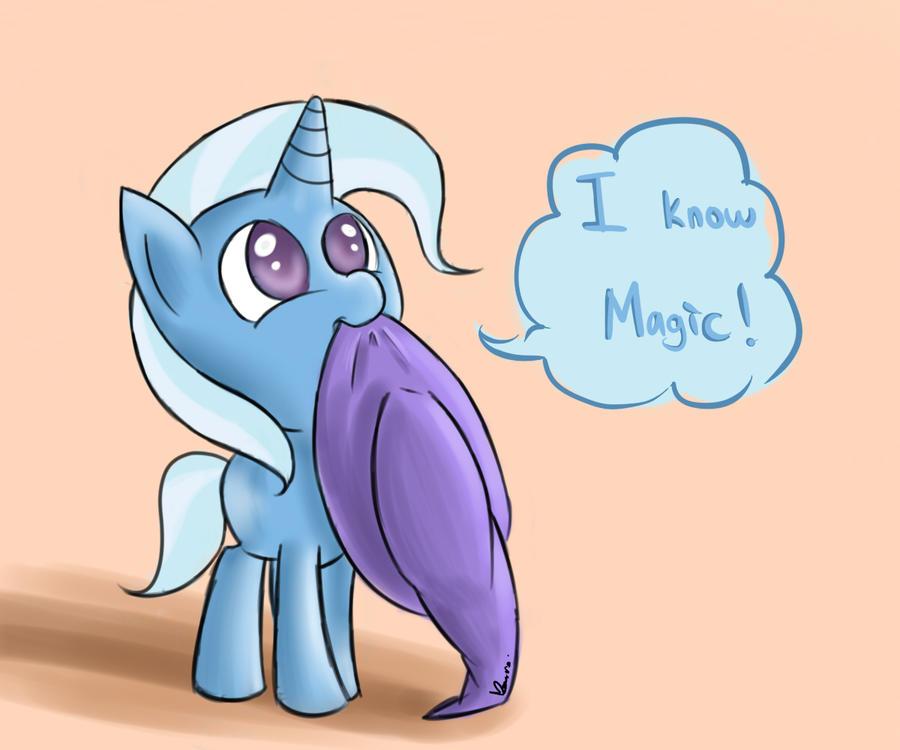 Trixie knows magic by Doggie999