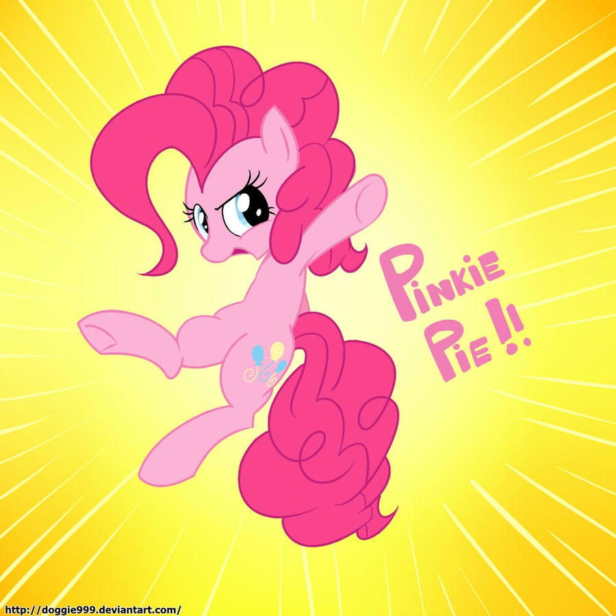 Awesome PinkiePie by Doggie999