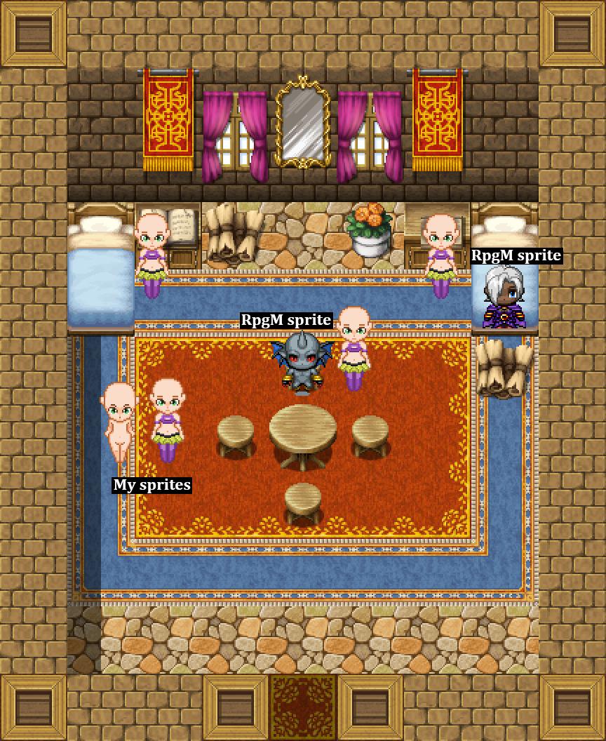WIP][C&C] RPG tiles, props and sprites!