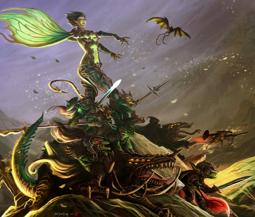 GoblinQueen for TheSteampunker by The-Hand
