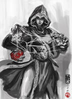 Assassin Pinay Sketch by The-Hand