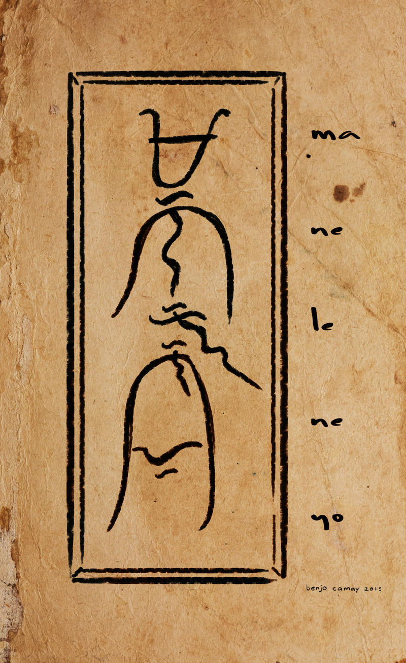 Manilenyo written in Baybayin by The-Hand