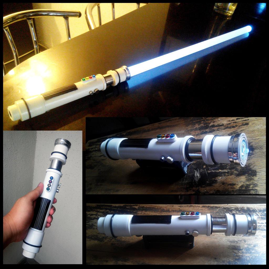 DIY Stormtrooper Lightsaber by The-Hand on DeviantArt