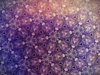 Ornament189: Lavender Wireflowers by 8ighteyed