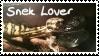 Snek Lover Stamp by IrkenOverlord