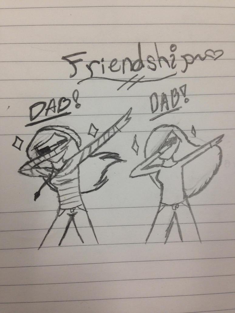 Friendship dab by Sweetbriar42