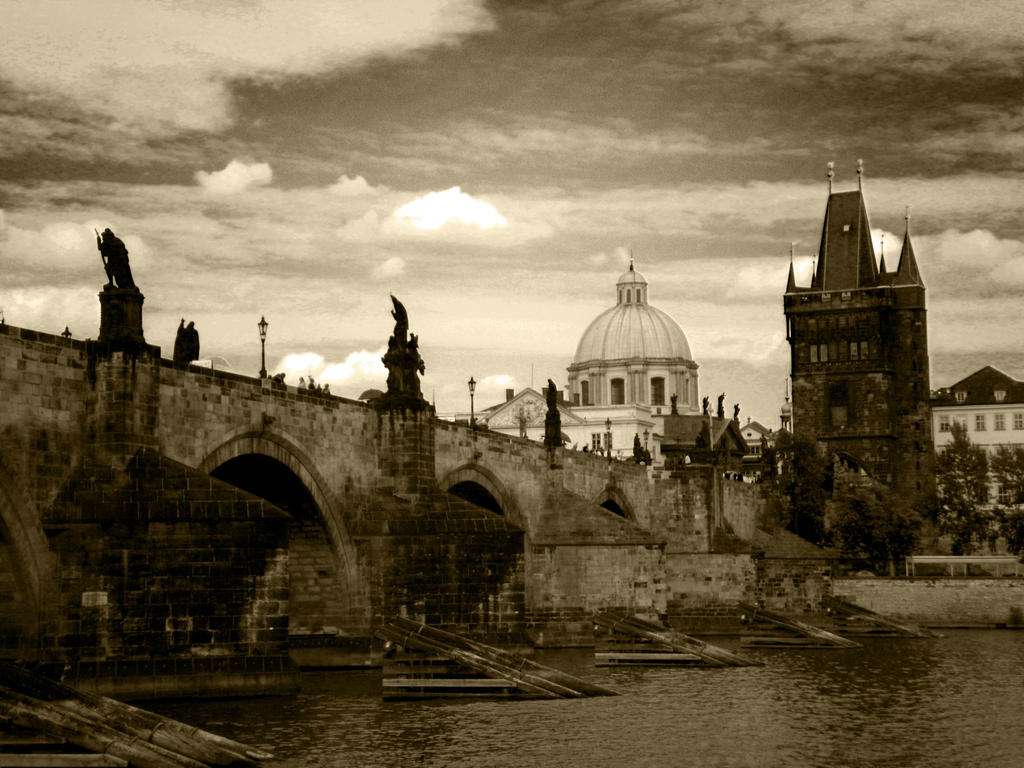 Charles Bridge by JeanBlaze