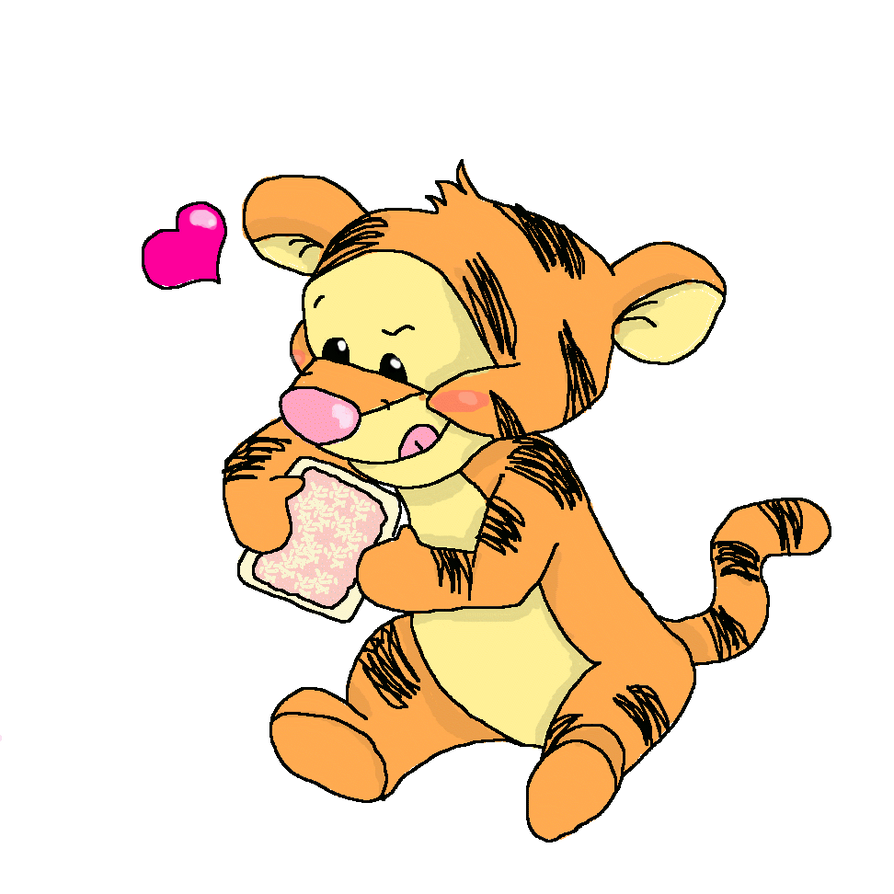 Baby tigger by chibiloverndrawer on DeviantArt