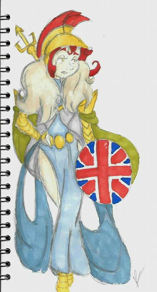 Britannia(Kamigami No Asobi OC) by NightmareIndigo