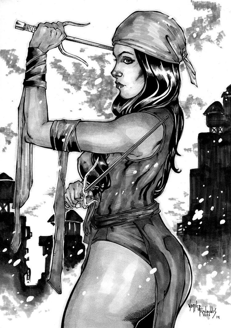 Elektra By Vagner Fernandes$ 57 by vagnerskyblue