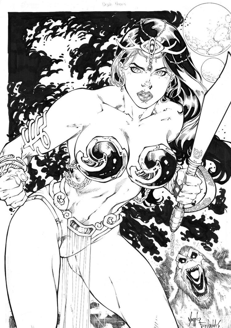 Dejah Thoris (New) by vagnerskyblue