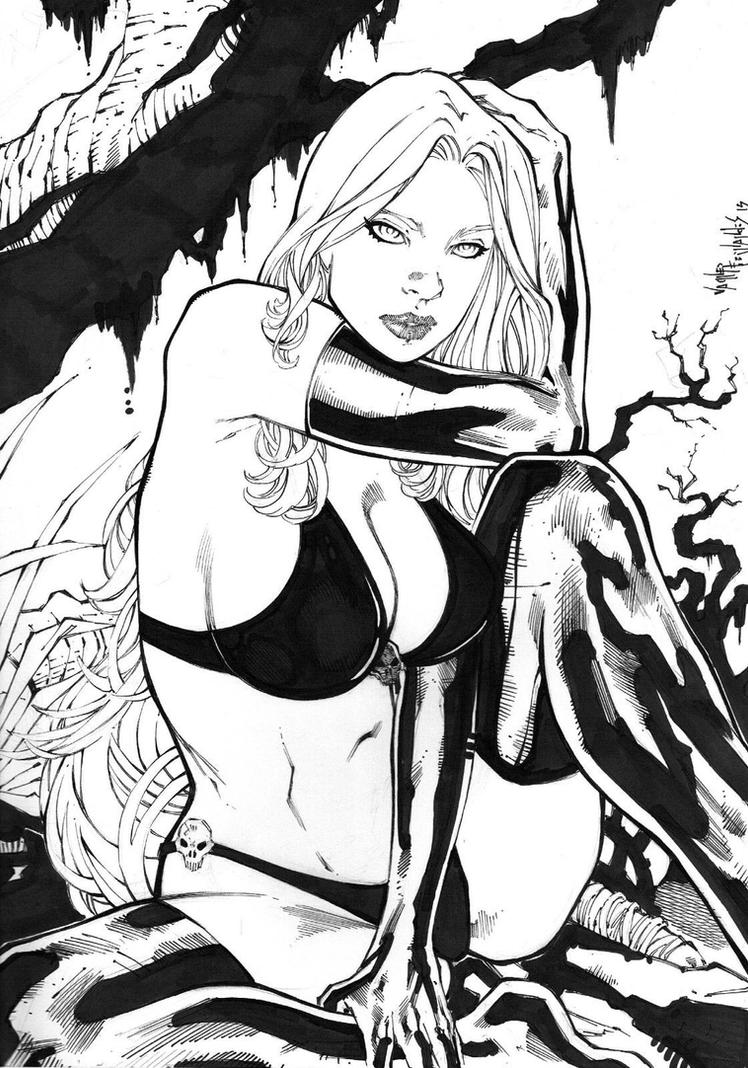 Lady Death by vagnerskyblue