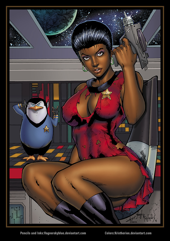 Uhura Color by vagnerskyblue