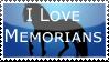 I love Memorians stamp by Hippie30199