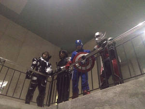 Avengers waiting to be assembled