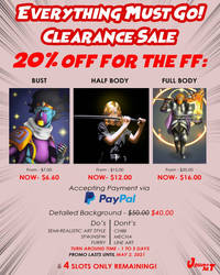 Clearance Sale! 20% off!