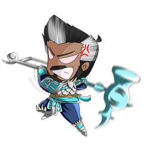 Dungeons and Dragons Barbarian Chibi