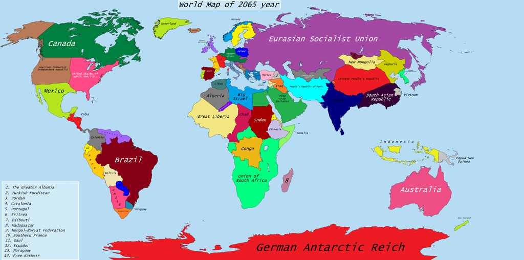 World map of 2065 year alternative future by foxyredcat on world map of 2065 year alternative future by foxyredcat sciox Images