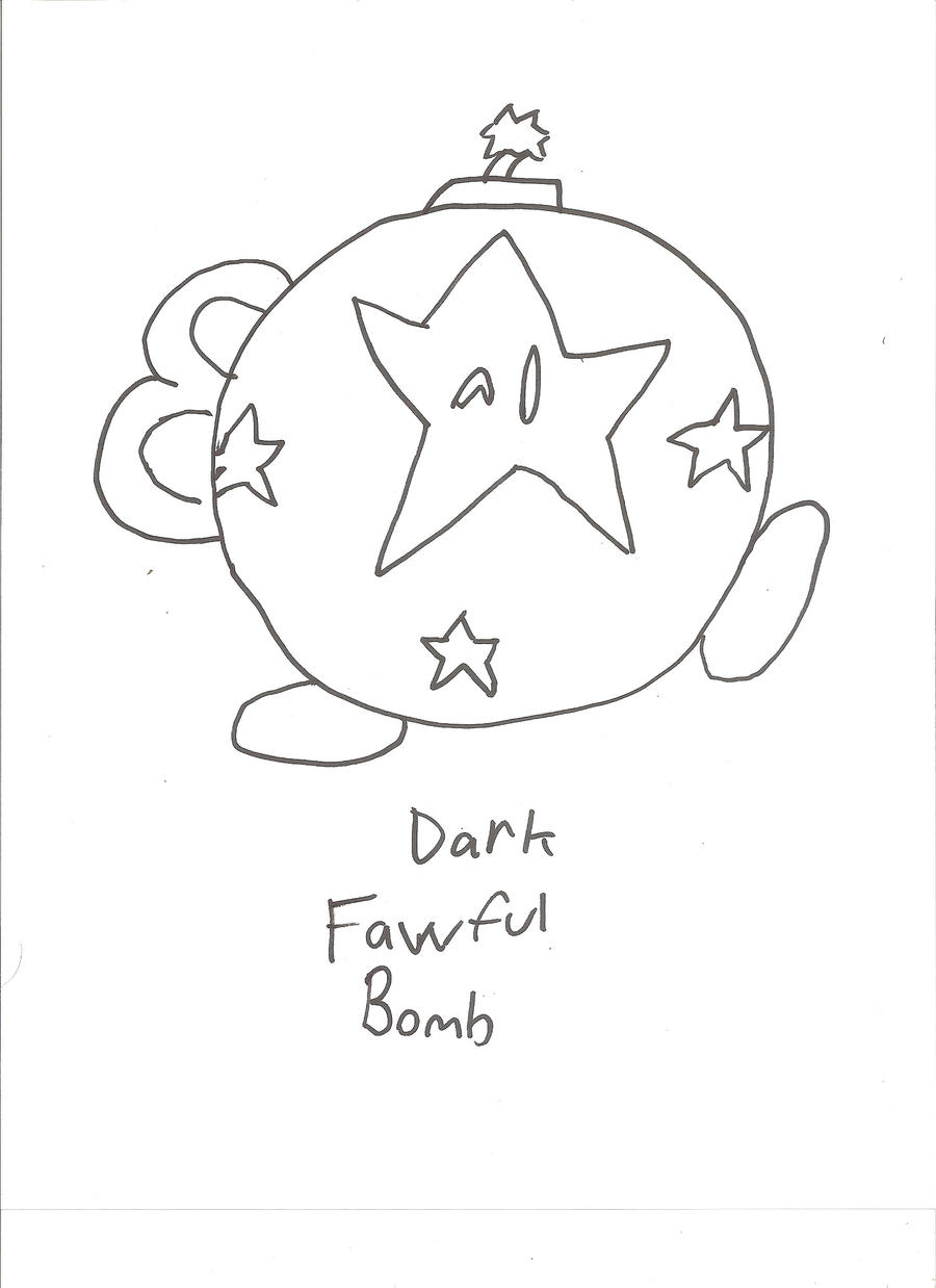 Dark Fawful Bomb