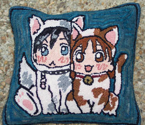 Kare Kano pillow by threehollys