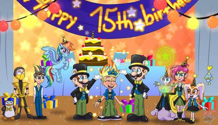 Happy 15th Birthday, Johnny Test!