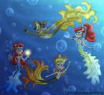 Mermaidix Adventure! by PrismaGalaxy514