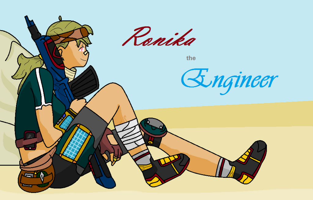 Ronika the Engineer by Dysartist