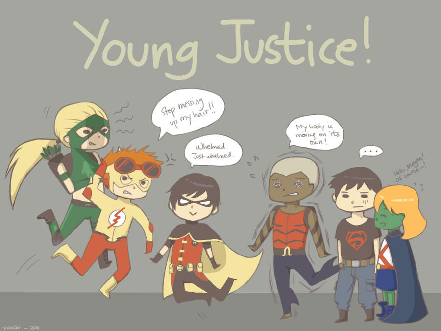 Young Justice Fan Art Young Justice by kikki1546